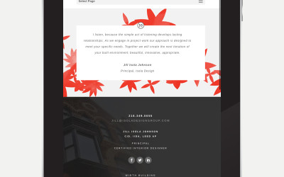 Isola Design Website