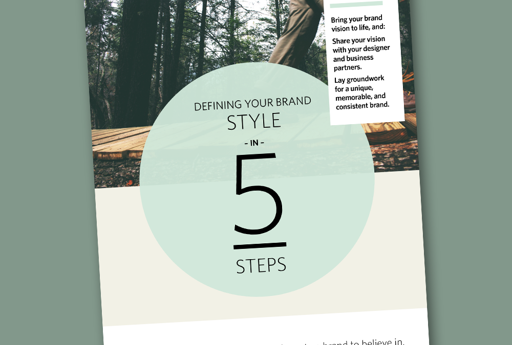 Capture Your Brand Vision in 5 Steps